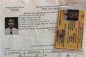 Người dân Gia Lai ra Hải Phòng thi bằng lái: Mù chữ vẫn được 'bao' đậu