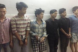 Bắt 6 đối tượng chuyên cướp giật xe máy, điện thoại di động của phụ nữ