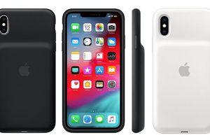 Apple tung ốp lưng kèm pin cho iPhone XR, XS và XS Max