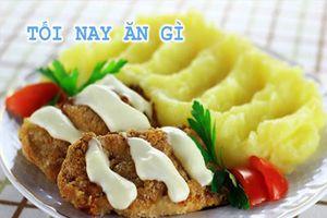Cách làm món gà mayonnaise giòn nướng thơm ngon