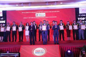 Phương Trang được vinh danh Top 10 Công ty Vận tải - Logistics uy tín 2018