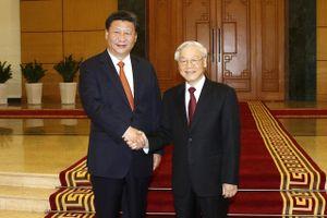 Lãnh đạo Việt - Trung điện mừng 69 năm hai nước thiết lập quan hệ ngoại giao