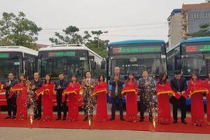 Lộ trình 2 nhánh tuyến buýt ra ngoại thành Hà Nội vừa khai trương