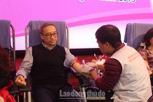 Bộ Thông tin và Truyền thông tổ chức Hiến máu tình nguyện năm 2019