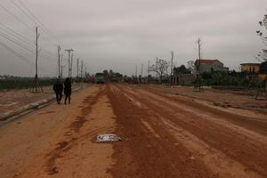 Dự án đường tránh Quốc lộ 32 gần 10 năm chưa hoàn thành vì vướng GPMB
