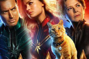 'Captain Marvel' công bố 10 poster nhân vật: Đến con mèo cũng có ảnh riêng, vai của Jude Law vẫn được giữ bí mật