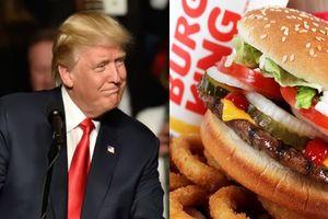 Burger King 'mỉa mai' Tổng thống Trump khi viết sai chính tả từ humberger