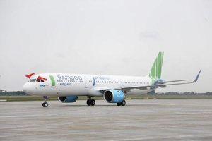 Cận cảnh nội thất bên trong máy bay Airbus A321NEO của Bamboo Airways