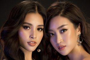 Hoa hậu Mỹ Linh, Tiểu Vy đọ dáng khoe vẻ đẹp 'một 9 một 10'