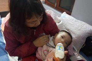Hải Phòng: Bé gái hơn 7 tháng bị bỏ rơi giữa đêm lạnh kèm lời nhắn không quay lại đón bé