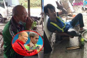 Sau anh thợ điện 'Lâm Ta', xuất hiện thêm Văn Toàn phụ hồ và cả thầy Park...xe ôm