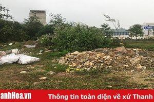 Xử phạt nghiêm đối với hành vi đổ phế thải xây dựng tại khu đô thị