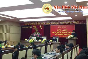 Ban Tuyên giáo Tỉnh ủy Vĩnh Phúc triển khai nhiệm vụ năm 2019