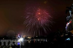 Hanoi to welcome Lunar New Year with fireworks shows