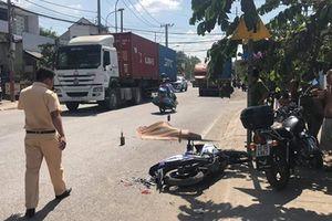 Nam thanh niên tử vong sau va chạm với xe đầu kéo