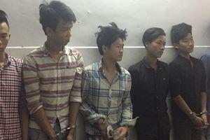 Nhóm thanh niên gây 20 vụ cướp giật lấy tiền chơi ma túy
