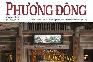 Thượng tướng Nguyễn Văn Hưởng là Tổng Biên tập Tạp chí Phương Đông