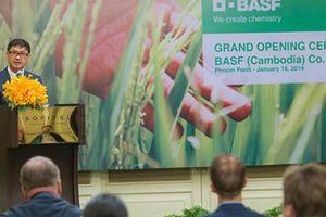 BASF chính thức đặt chân vào thị trường Campuchia