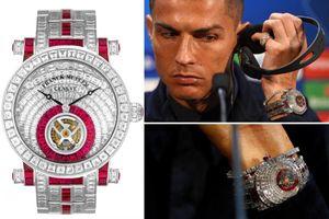 Chơi đồng hồ siêu sang, Ronaldo 'vô đối' làng bóng đá thế giới