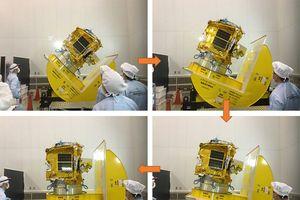 Hôm nay vệ tinh 'made by Việt Nam' vào vũ trụ