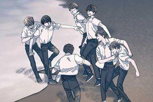 Bất ngờ khi BTS phát hành truyện tranh online miễn phí cho độc giả