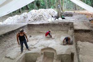 Các nhà khảo cổ tìm thấy 'phòng tắm hơi cổ đại' của người Maya