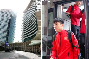 Đội tuyển Việt Nam 'đổ bộ' Dubai, sẵn sàng đấu Jordan