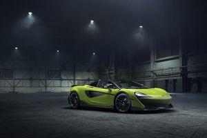 Siêu xe mui trần McLaren 600LT Spider trình diện