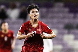 Quang Hải là 'vua chuyền bóng' của tuyển Việt Nam tại Asian Cup