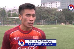 Em trai Bùi Tiến Dũng bật mí về tình hình chấn thương của U22 Việt Nam