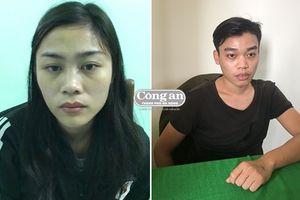 Bắt đôi nam nữ bán ma túy