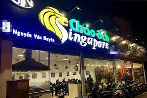 Ảnh hiện trường tan hoang vụ cháy quán cháo ếch Singapore