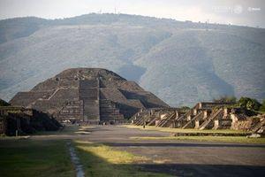 Giật mình 'đường sang thế giới bên kia' dưới kim tự tháp
