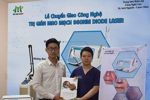 Lễ ký kết chuyển giao công nghệ trị giãn mao mạch 980nm tại Quảng Bình