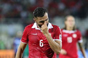 Chia tay Asian Cup 2019, tuyển thủ Lebanon nói lời cay đắng