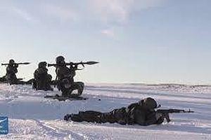 Hải quân Nga diễn tập đổ bộ tại Bắc Cực