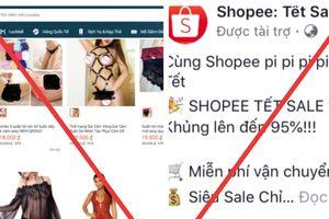 Tiki, Shopee, Lazada sử dụng hình ảnh nhạy cảm để quảng cáo sản phẩm?