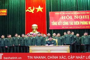 Biên phòng Hà Tĩnh giữ vững ổn định khu vực biên giới, vùng biển