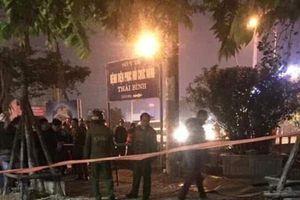 Thái Bình: Xô xát gần trụ sở Công an tỉnh khiến 1 người tử vong