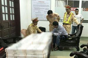 Đà Nẵng: Bắt giữ xe khách chở gần 2.000 gói thuốc lá nhập lậu