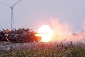 Chùm ảnh: Đài Loan tập trận bắn đạn thật quy mô lớn, răn đe Trung Quốc