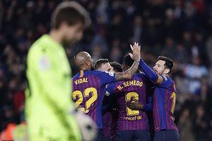 Barcelona 3-0 Levante: Đại thắng trên sân nhà, Barca thẳng tiến vào tứ kết