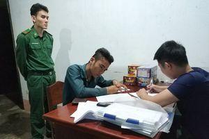 Đồn Biên phòng Phước Tỉnh bắt đối tượng tàng trữ pháo trái phép