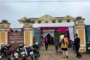 Quảng Bình: Trụ sở UB xã bị 'chiếm' làm nơi tổ chức đám cưới?
