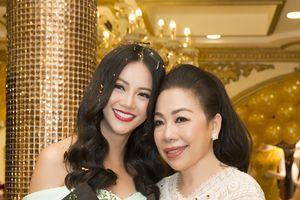 Sau ồn ào mua giải, Phương Khánh đến tận nhà NTK Linh San để tặng quà tri ân