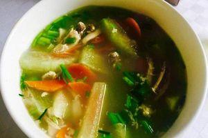 Mách bạn 3 món ăn đơn giản giúp bạn xóa tan bệnh cảm cúm do nhiệt ẩm cực hiệu quả