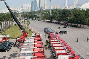 Soi dàn xe chữa cháy 'cực khủng' hơn 500 tỷ đồng Bộ Công an vừa mới nhận