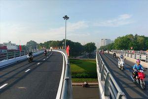 TPHCM: Thông xe cầu vượt Nguyễn Thái Sơn-Nguyễn Kiệm trước Tết