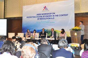 ASEM thúc đẩy kinh tế số trong bối cảnh cuộc cách mạng 4.0