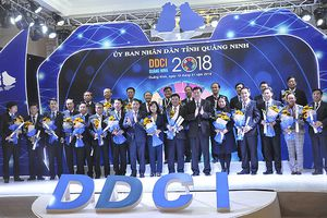 Cục Hải quan Quảng Ninh và TP Cẩm Phả tiếp tục dẫn đầu bảng xếp hạng DDCI 2018
